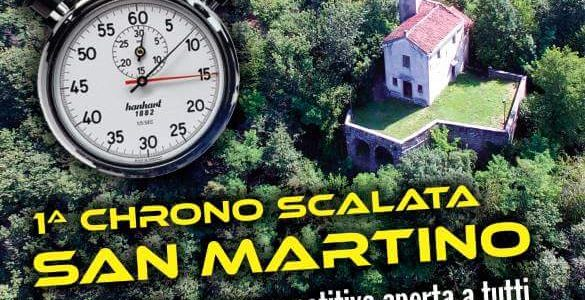 1^ Chrono scalata di San Martino